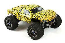 Custom Body Cheetah Style for Traxxas T / E Maxx Shell Cover 3911R E-Maxx