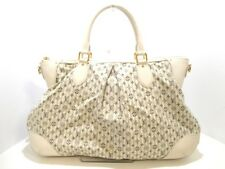 Auth LOUIS VUITTON Marina GM Croisette  Blau M95492 Ivory Navy TH3067 Handbag