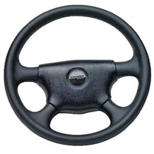 13-1/2 Inch Diameter Black Plastic 4 Spoke Steering Wheel for Boats