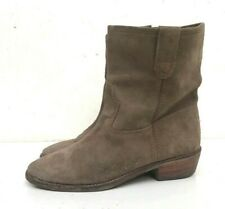 ISABEL MARANT MID CALF SUEDE BOOTS SIZE 38 US 7