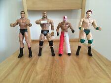 WWE Mattel FlexForce Talking Wrestling Figures - Triple H, Mysterio, Orton Etc