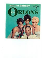 The Orlons TEEN 45 (CAMEO 243) South Street/Them Terrible Boots VG HEAR IT!