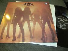ALIEN cosmic fantasy LP RARE mongol horde USA '83 metal original vinyl hair glam