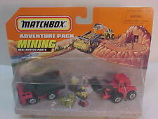 MATCHBOX SUPERFAST ACTION SYSTEM ADVENTURE PACK MINING MOVING PARTS PLAYSET NEW
