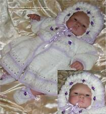 "Crochet pattern Baby/Reborn Outfit 0-3 months: ""Lillie"": CRO122, Frandor Formats"