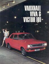 1967 Vauxhall Viva & Victor 101 Sales Brochure mw4631-MURP3N