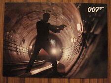 JAMES BOND AUTOGRAPHS & RELICS: PROMOTIONAL CARD: P5 - UK EXCLUSIVE