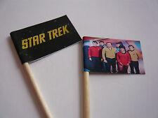 20 Bandiere Cupcake / Decorazioni per-Star Trek bambini festa di compleanno