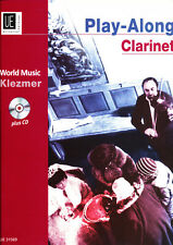 Yale Strom - Play-Along Clarinet  World Music: Klezmer plus CD