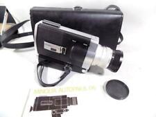 MINOLTA AUTOPAK-8 Super-8 Film Video Camera w/ Case & Instructions