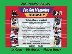 Lanny McDonald 2020/21 20/21 Leaf Pro Set Memories 1X CASE 10X BOX BREAK #1