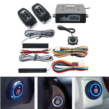 Pke Car Passive Keyless Entry Push Button Remote Alarm System Engine Start/Stop~