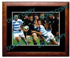 SONNY BILL WILLIAMS NZ ALL BLACKS 2011 W/CUP A3 PHOTO 1