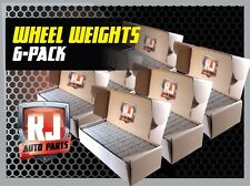 Stick-On Adhesive Tape Wheel Weights, 3-9 Lb Boxes 1/4 oz, 3-9 Lb Boxes 1/2 Oz.