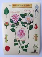 Bloc n°24 Congrès mondial des Roses anciennes 1999 neuf**