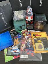 Mixed Lot of Random Toys Collectibles Lootcrate 1upbox Funko Marvel - Lot 4