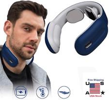 Neckology Intelligent Neck Massager - Usb Intelligent Remote Control Back -Blue