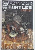 Teenage Mutant Ninja Turtles TMNT #5A Micro Series SPLINTER IDW Variant Cover