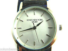 NEW JONES NEW YORK SPORT LADIES WATCH /SILVER TONE