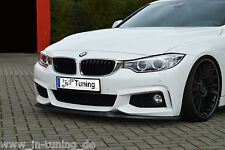 SONDERAKTION Spoilerschwert Frontspoiler Lippe ABS für BMW 4er F32 F33 F36 ABE