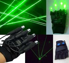532nm 50mw 4 x Laser Visible Beam Green Stage Lighting DJ Laser Show Gloves