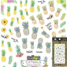 Pineapple Nail Art Stickers Decoration Manicure Decals USA SELLER FAST SHIP