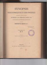 synopsis rerum moralium et iuris pontificii-bendicto ojetti S.I.-volume secondo