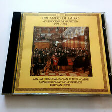 Orlando Di Lasso – Patrocinium Musices 1573 – 1573 (CD)