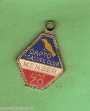 DAPTO   RUGBY LEAGUE  CLUB MEMBER BADGE 1970 #97