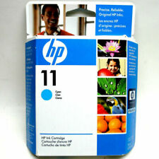 Original HP 11 Ink Cartridge  BLUE CYAN  JUN/2008