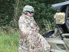 Army WOOBIE Liner Poncho Blanket Decke Steppdecke Blanket Multicamo camouflage