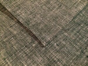 """NWT J.Crew 12"""" x 12"""" USA Made Green Chambray Linen Pocket Square Style C1231"""