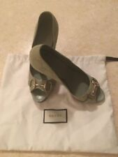 Gucci 100% Leather Court Slim Heels for Women