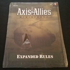 AXIS & ALLIES MINIATURES EXPANDED RULES Avalon Hill WTC216567400 Torn SW NM NEW!