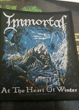 IMMORTAL PATCH NEW  RARE COLLECTABLE WOVEN ENGLISH IMPORT