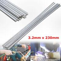 10X Aluminium Soudage Soudure Souder Électrode Tige Bâton Barre 3.2mm x 23cm