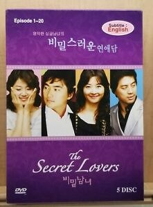 The Secret Lovers Korean Drama DVD aka A Man and a Woman Han Ji-hye
