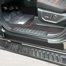 2015-2018 Ford F-150 Crew Cab 4pc Door Sill Protect Threshold Step Pad Custom
