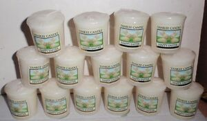 YANKEE CANDLE HAPPY EASTER WHITE CHOCOLATE RABBITS VOTIVE CANDLES X 15 BRAND NEW