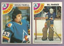 1978-79 OPC O-PEE-CHEE Colorado Rockies Team Set