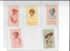 New listing Vintage Cigarette Silks Zira Cigarettes Blossom Seeley Margaret Dale 5 diff