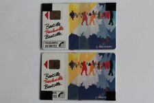 Télécartes à puce France Fromanger Bastille 50U et 120U NSB 1989 (55355)