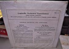 rare LP album LOUISVILLE ORCHESTRA Robert Whitney TANSMAN/BOROWSKI/DAHL LOU 56-2