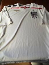 Inglaterra Umbro Retro Home Camisa Tamaño XXXL Hombre 3XL