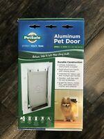PetSafe Small Size Aluminum Pet Dog Door 1 -15 Pounds NEW