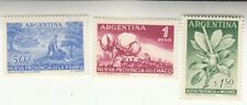 Argentina 1956. Admission of 3 Frontier Territories as States. MNH