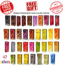 Berina A1-A47 Permanent Hair Color Cream Hair Style Dye Professional 47 colors