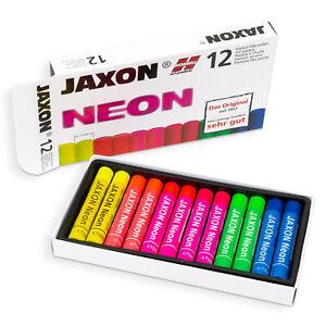 JAXON Pastell Ölkreide Neon Malen Abstrakt mit Terpentin vermalbar Trendfarbe