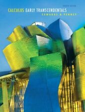 Calculus Early Transcendentals by Penney & Edwards, 7th Edition (Hardcover)
