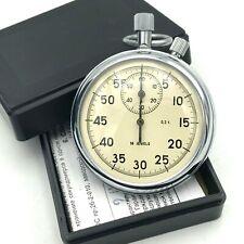 Stopwatch Sport Russia AGAT Mechanical Chronograph Single Hand 0,2s Original Box